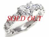 Nhẫn kim cương 1.012ct trái tim nước D