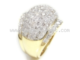 Nhẫn kim cương 4.88ct nhẫn nữ