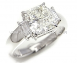 Nhẫn kim cương 2.045ct nước M