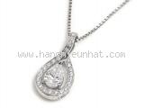 Vòng cổ kim cương PT950 1.012ct