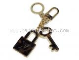 SA Móc chìa khóa LV nâu vàng M65088