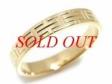 Nhẫn Hermes vàng K18YG size 55