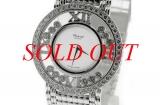 Đồng hồ Chopard K18WG kim cương unisex