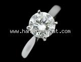 Nhẫn Cartier kim cương 1.17ct nước H