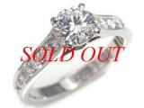 Nhẫn Cartier kim cương K18YG - 0.701ct size 51