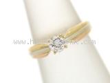 Nhẫn Cartier kim cương 0.30ct size 6