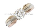 Nhẫn Cartier kim cương 0.56ct size 47