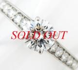 Nhẫn Cartier kim cương 0.70ct size 10