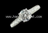 Nhẫn Van Cleef & Arpels kim cương 0.72ct size 5