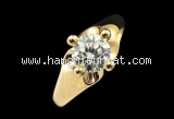 Nhẫn Bulgari Corona kim cương 0.715ct K18YG