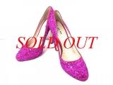 Giày cao gót Miu Miu size 37 1/2 màu hồng