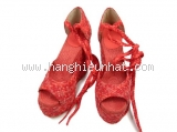 NEW Sandal cao gót Hermes size 37 màu đỏ