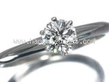 Nhẫn kim cương Tiffany&Co 0.38ct size 9.5