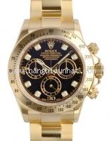 Đồng hồ Rolex kim cương daytona 116528 mặt đen