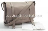 Túi xách Hermes đeo chéo màu ghi