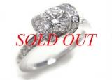 Nhẫn TIFFANY & Co kim cương 0.58ct PT950