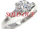 Nhẫn HARRY WINSTON kim cương 1.21ct PT950