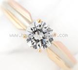Nhẫn kim cương Cartier 3 màu 0.57ct