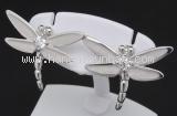 Bông tai Tiffany&Co kim cương 750WG chuồn chuồn