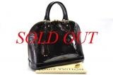 Túi Louis Vuitton Vernis Alma PM màu tím M91611