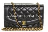 Túi xách Chanel lambskin màu đen
