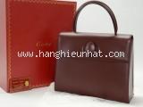 SA Túi xách Cartier Bordeaux màu đỏ đậm