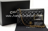 Túi xách Chanel lambskin màu đen 1 dây xích