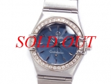 Đồng hồ Omega constellation nữ kim cương 1466