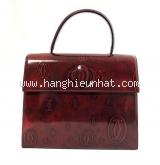 Túi xách Cartier Bordeaux màu đỏ bóng