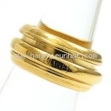 Nhẫn Piaget size 49 vàng vàng