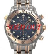 Đồng hồ Omega Seamaster 2296.8 mặt xanh
