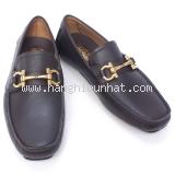 NEW Giày Ferragamo PARIGI 0582 màu nâu sẫm