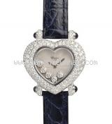 Đồng hồ Chopard happy diamond dây da của nữ