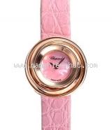 S Đồng hồ Chopard nữ happy emotion hồng