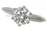 Nhẫn Tiffany&Co kim cương 1.00ct Pt950 số 14