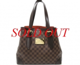 MS4015 Túi Louis Vuitton damier Hampstead MM