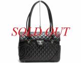 Túi xách Chanel da màu đen