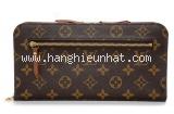 Ví da Louis Vuitton monogram M66566 nâu