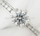 Nhẫn kim cương Tiffany&Co 0.66ct size 7