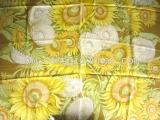Khăn Lụa Ferragamo hoa màu vàng