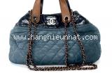 Túi xách Chanel màu xanh nâu