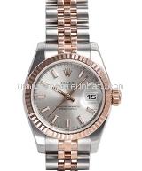 Used Đồng hồ Rolex nữ 179171 mặt bạc