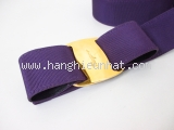 Thắt lưng Ferragamo vải màu tím