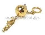 Móc chìa khóa Louis Vuitton hình cầu