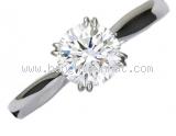 Nhẫn Harry winston Pt950 kim cương 0.74ct