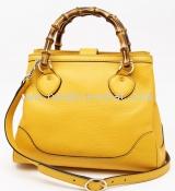 Túi xách Gucci bamboo 308360 màu vàng
