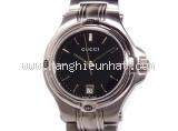 Đồng hồ Gucci 9040L mặt số màu đen