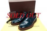 Giày Louis Vuitton size 7 1/2 nam xanh hải quân