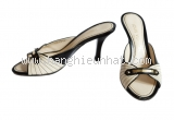 MS2192 Giầy Louis Vuitton size 35 màu đen kem SUMMER SALE