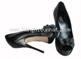 MS4004 Giày Gucci size 36 1/2 đen cao